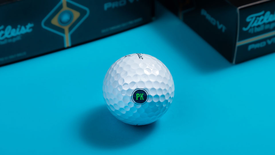 Customize Your Logo On Name Brand Golf Balls