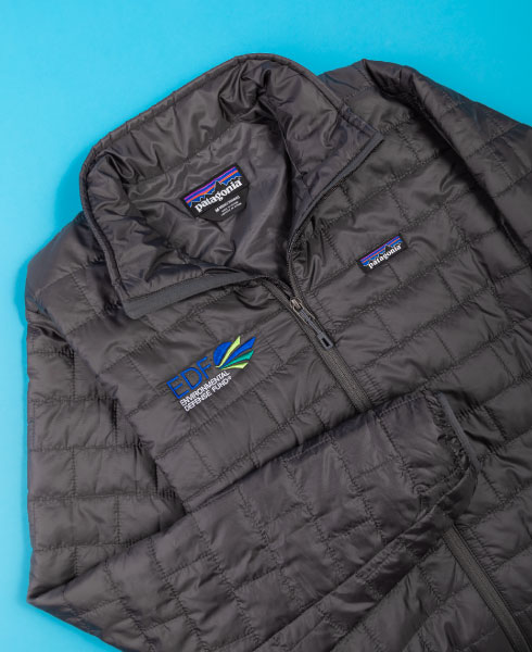 Customize Your Company Logo On Name Brand Jackets