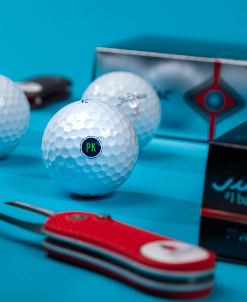 Custom Golf Balls Plus Your Company Logo