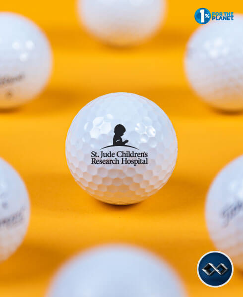 Your Company Logo on Custom Golf Balls