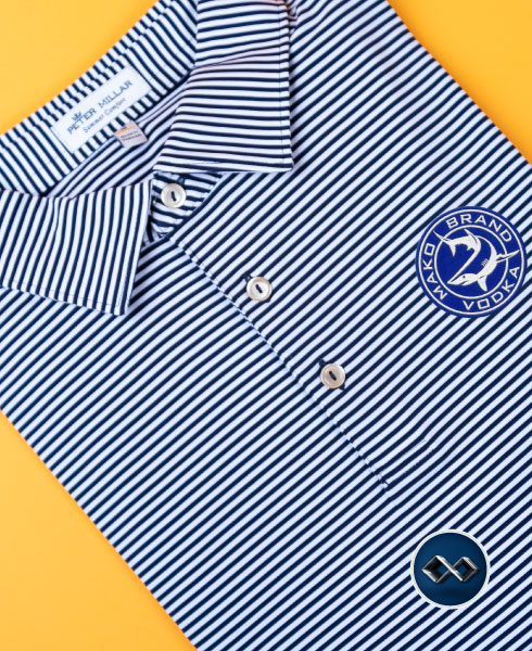 Add Your Logo to Peter Millar Customizable Golf Shirts