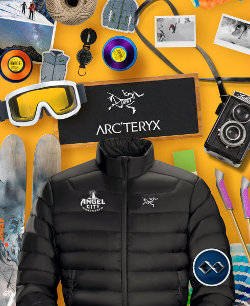 Custom Embroidered Jackets From Arcteryx